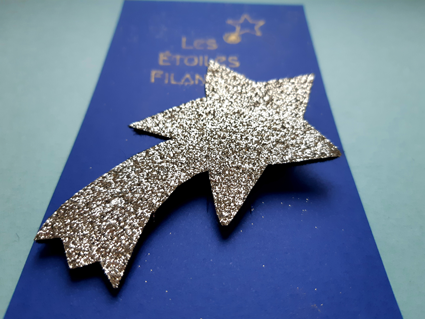 Broche Étoile Filante