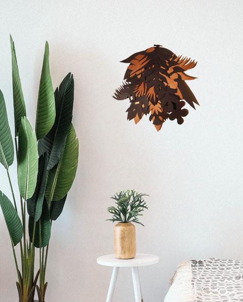 Déco, décoration, papier, feuillage, nature